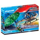 Playmobil-City-Action-Helicopter-Parachute