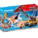 Escavadeira-Playmobil-City-Action-Caterpillar