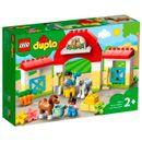Lego-Duplo-Stable-avec-poneys