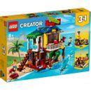 Lego-Creator-Surf-House-na-praia