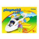 Playmobil-123-Avion-avec-passager