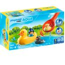 Playmobil-123-Aqua-famille-de-canards