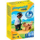 Playmobil-123-Veterinarian-with-Dog