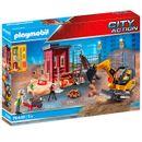 Mini-escavadeira-Playmobil-City-Action