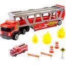 Fogo-de-resgate-de-caminhao-de-bombeiros-da-caixa-de-fosforos