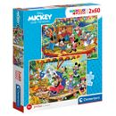 Mickey--amp--Friends-Puzzle-2x60-Pecas