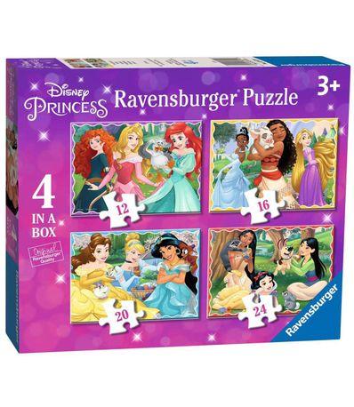 Puzzle-Princesse-Disney-4-en-1
