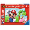 Puzzle-Super-Mario-3x49-pieces