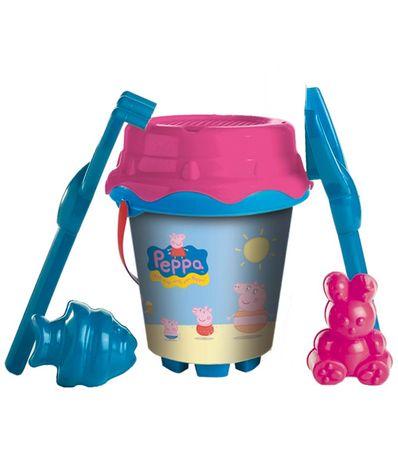 Peppa-Pig-Conjunto-Cubo-Playa---Moldes