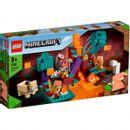 Lego-Minecraft-Warped-Forest