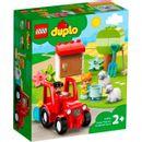 Tracteur-Lego-Duplo-et-animaux-de-la-ferme