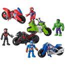 Figura-do-The-Avengers-Hero-Adventures---Moto-STD