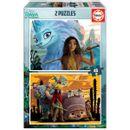 Puzzle-Stripe-et-le-dernier-dragon-2x48-pieces