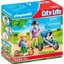 Playmobil-City-Life-maman-avec-enfants