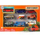 Variedade-de-carros-Matchbox-Pack-9