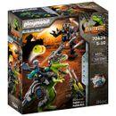 Playmobil-Dino-Rise-T-Rex--Batalha-dos-Gigantes