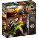 Playmobil-Dino-Rise-Saichania--Combattre-la-defense