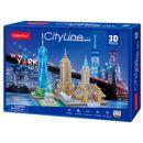 Puzzle-de-ligne-de-ville-3D-New-York