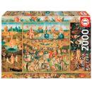 Puzzle-de-2000-pieces-Jardin-des-delices-terrestres