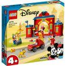 Lego-Disney-La-caserne-des-pompiers-et-le-camion-Mickey-Mouse