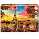 Puzzle-3000-Pieces-Sunset-em-Paris