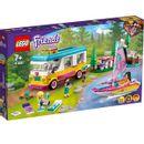 Floresta-de-Lego-Friends--Motorhome-e-Barco-a-Vela