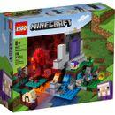 Lego-Minecraft-Portal-dans-les-ruines
