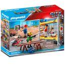 Playmobil-Echafaudage-avec-Ouvriers