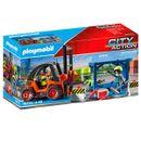 Playmobil-City-Action-Carretilla-Elevadora-Carga