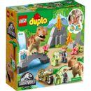 Lego-Duplo-Fuga-del-T-rex-y-el-Triceratops