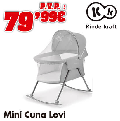 Kinderkraft mini cuna
