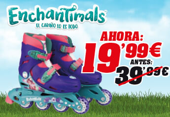 Promoción patines Enchantimals